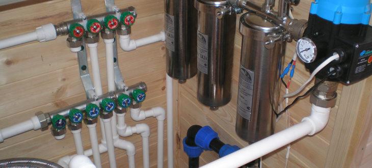 Как своими руками провести водопровод в частный дом от центрального водопровода